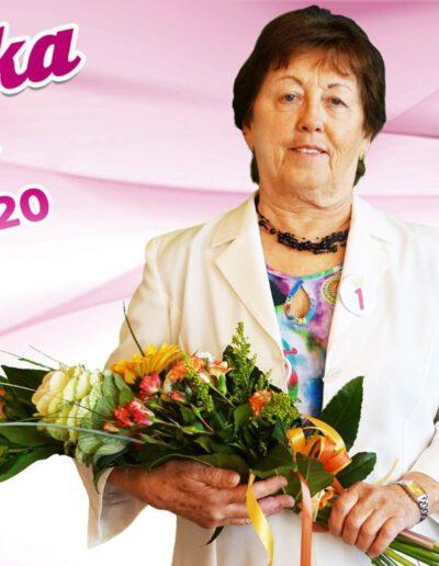 Marie Rozmanová, bronzová babička 2020