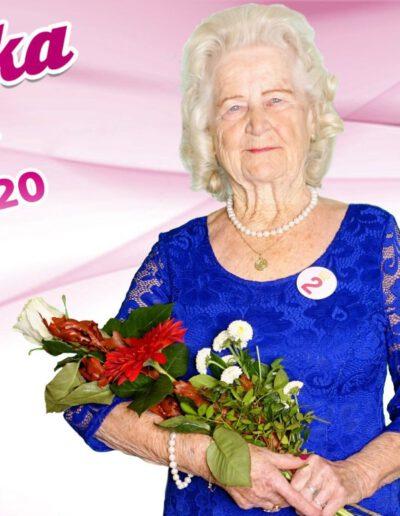 Drahoslava Kovářová, zlatá babička 2020